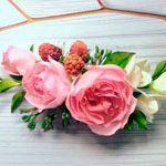 Гребень розы&фрезия