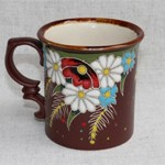 Чашка керамика Полянка