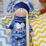 Кукла детская Зайка