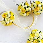 Комплект Yellow roses