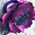 Резинка Анемон цветок