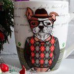 Керамическая чашка Dog