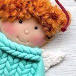 Сувенир подвеска Кукла