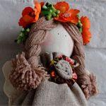 Интерьерная кукла Orange