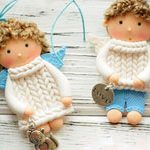 Куклы подвески Angels