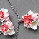 Авторские украшения Цветы