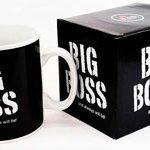 Чашка черная BIG BOSS