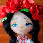 Народная украинская кукла