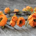 Венок Orange flowers