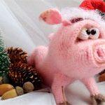 Игрушка свинка 2019