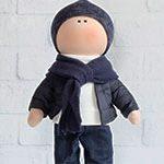 Кукла текстильная BOY