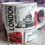 Чашка для кофе Лондон