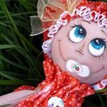 Куколка Клубничка