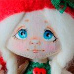 Новогодняя игрушка Кукла