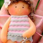 Кукла подвеска Морячка