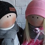 Куклы пара Валентинки