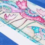 Хендмейд открытка World