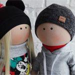 Авторские куклы HAPPY