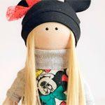 Интерьерная кукла Міккі