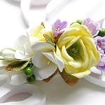 Заколка из фоамирана Цветы