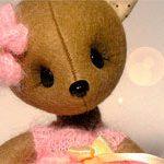 Мишка игрушка Милаша
