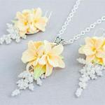 Комплект цветок Ванили