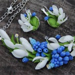 Комплект Весенние цветы