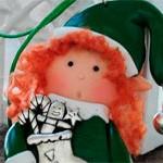 Новогодняя кукла Эльф