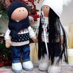Куклы Новогодняя ПАРОЧКА