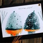 Новогодняя открытка Тепло