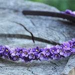 Обруч цветы Сирени