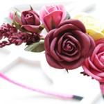 Обруч из фоамирана Roses