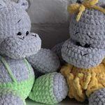 Бегемоты игрушки LOVE