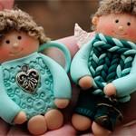 Сувениры подвески Ангелы