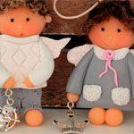 Мини куколки Валентинки