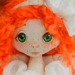 Кукла ангел Рыжуля