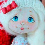 Текстильная кукла 2018