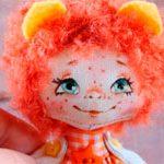 Куколка Рыжулька