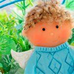 Кукла подвеска Амур