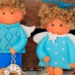 Куклы подвески Амурчики