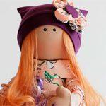 Кукла текстильная DOLL