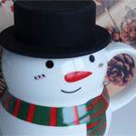 Большая чашка SnowMan