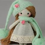 Вязаная кукла Spring