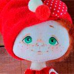 Новогодняя кукла Boy