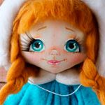 Интерьерная кукла Winter