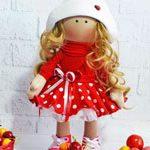 Кукла текстильная  Summer