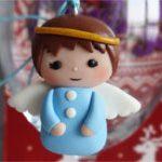 Новогодняя игрушка Ангел