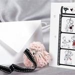 Свадебная открытка Story