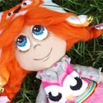 Интерьерная кукла Совушка