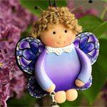 Кукла подвеска Бабочка